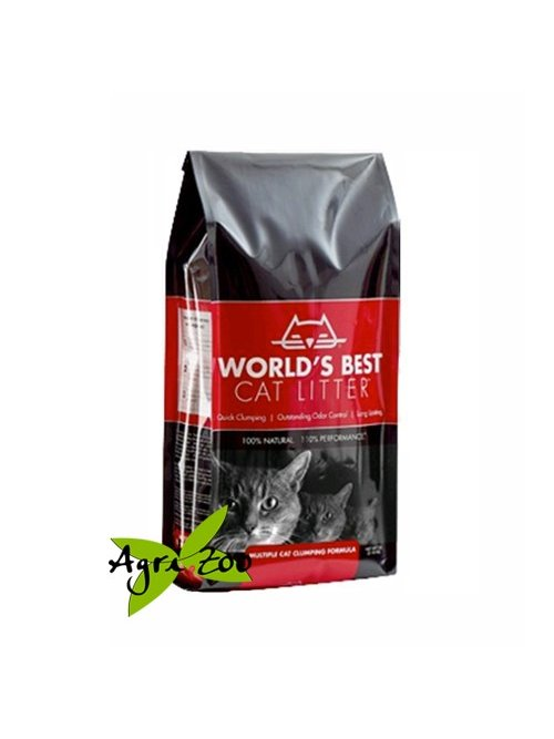 World's Best Cat Litter Rossa 6,35 Kg Lettiera Per Gatti